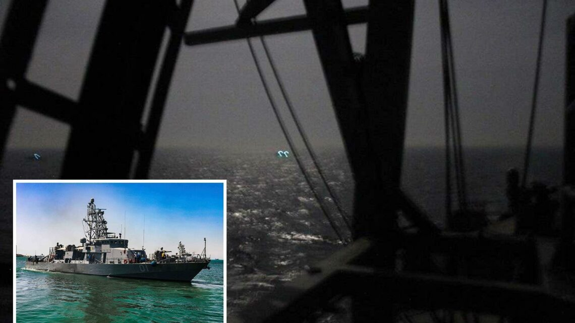 US Navy fires warning shots against Iran in Persian Gulf after vessels came too close to Coast Guard patrols