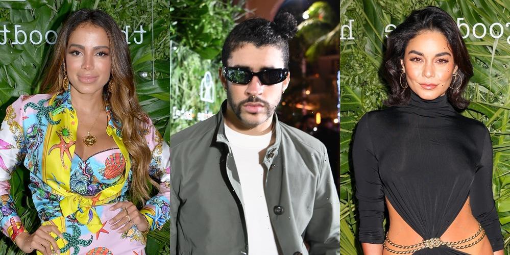 Vanessa Hudgens, Bad Bunny, Anitta, & More Attend Star-Studded Party in Miami
