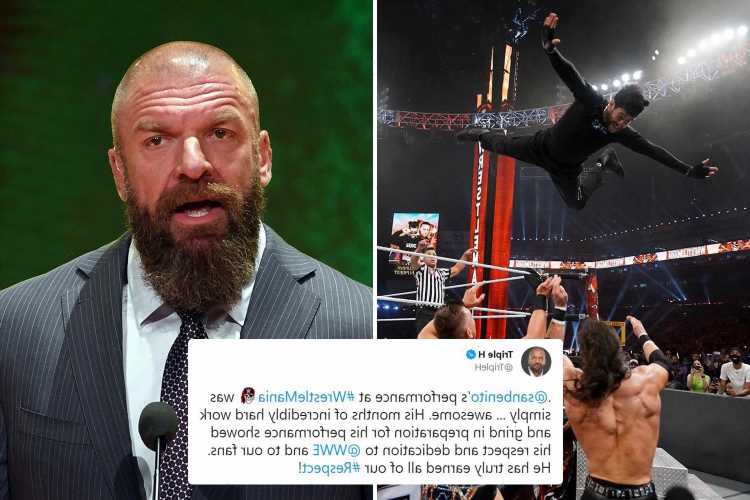 WWE legend Triple H praises pop superstar Bad Bunny for epic WrestleMania 37 performance who has 'earned my respect'