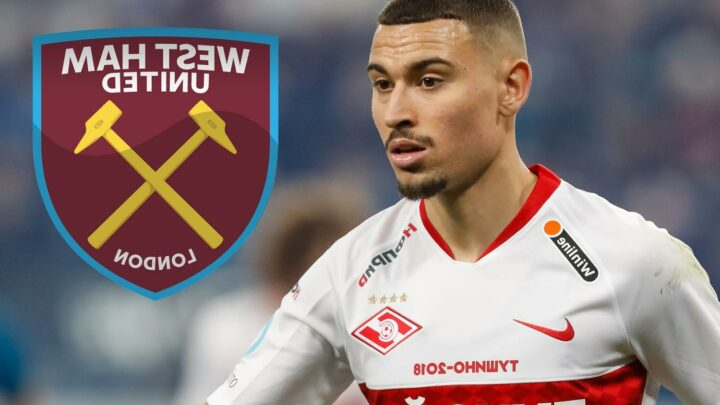West Ham fighting Dortmund for Jordan Larsson – son of Celtic hero Henrik – as 23-year-old impresses at Spartak Moscow