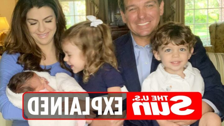 Who are Ron DeSantis' children?