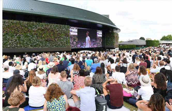 Wimbledon plan for 25 per cent capacity with socially distanced Henman Hill as SW19 scrap Sunday break from next year