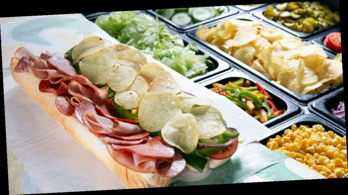 Subway foodies can make their own Walkers 'crisp sub' at the counter from today