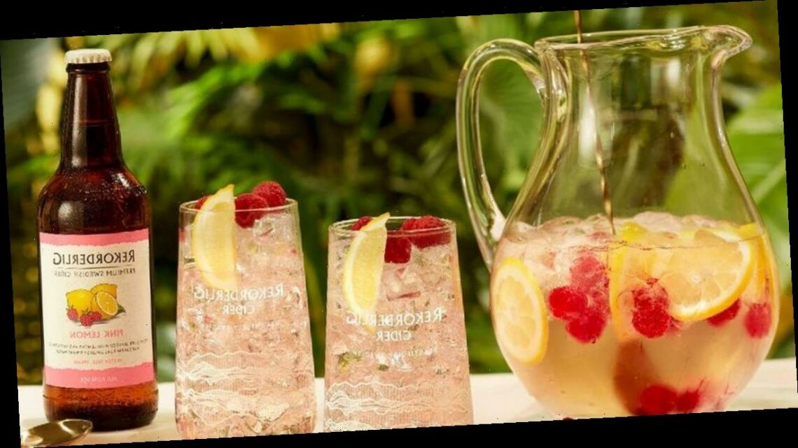 Rekorderlig launches new Pink Lemon cider and it's the ideal summer tipple
