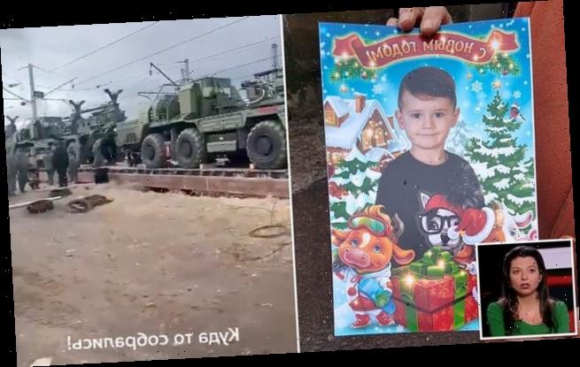 The Kremlin accuses 'Ukrainian beasts' of executing a boy with a drone