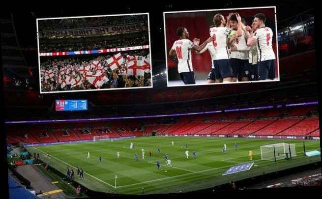 England's 'Euro 2020 group games will have 22,500 fans in attendance'