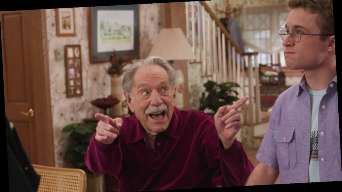 How The Goldbergs Paid Tribute to George Segal for His Final Episode