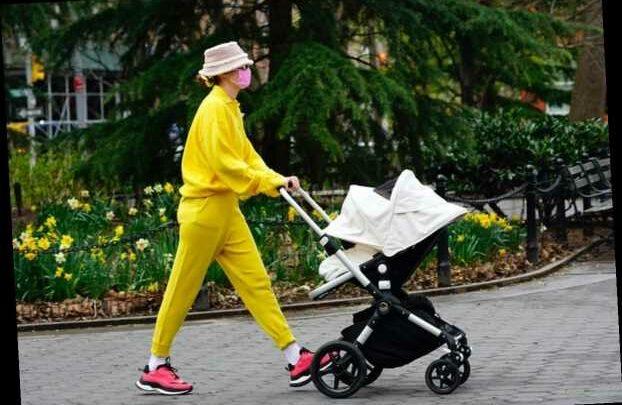 Gigi Hadid Beats The Mommy Blues In Sunny Yellow