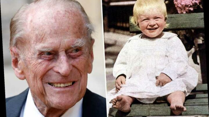 What was Prince Philip's real name and where was he born?