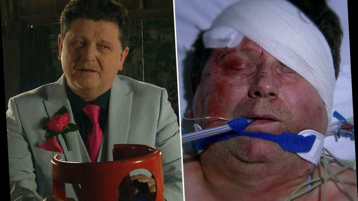 Emmerdale's Reece Dinsdale says horror death 'topped' his Coronation Street exit as he bids farewell to character Paul