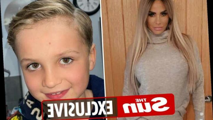 Katie Price forced to deny having secret lockdown haircuts after fans spot her son Jett's freshly cut locks