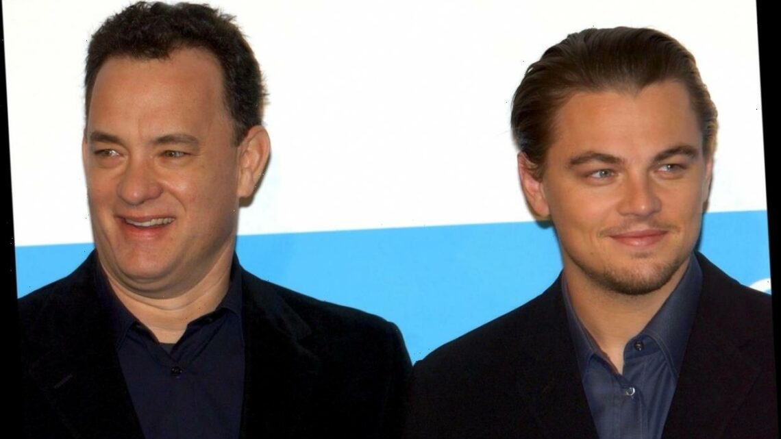 Tom Hanks and Leonardo DiCaprio Barely Met Making 'Catch Me If You Can'