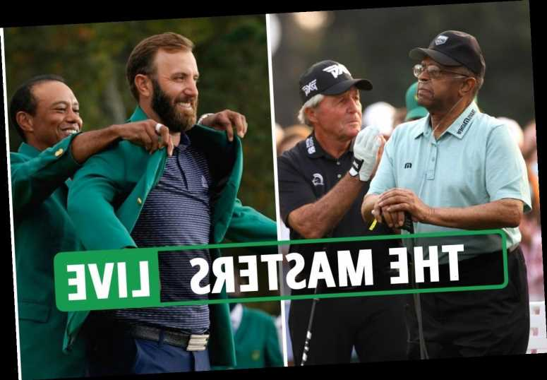 Masters 2021 LIVE: Leaderboard, UK start time, live stream, TV channel, tee times as players tee off from 1st at Augusta