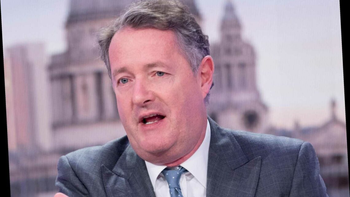 Why did Piers Morgan leave GMB?