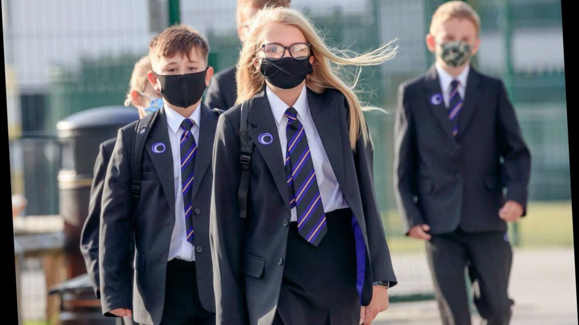 Kids MUST carry on wearing masks in classroom until at least May 17 as ministers ditch hopes of ending rules over Easter