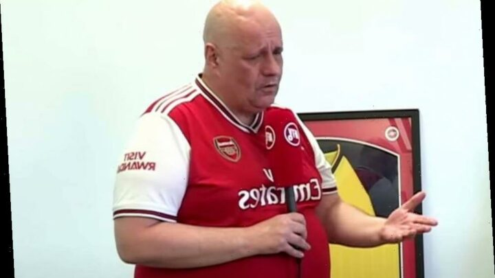 Arsenal Fan TV favourite Claude Callegari died of 'natural causes relating to his health', confirm heartbroken family