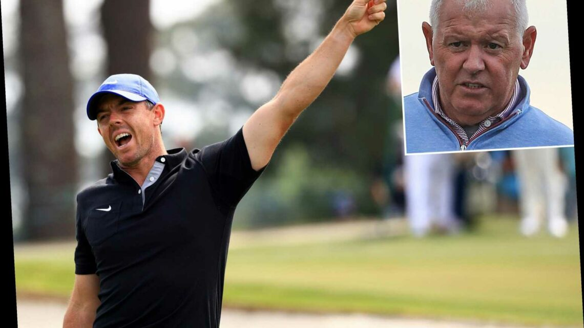 Rory McIlroy hits dad with shot during disastrous Masters start