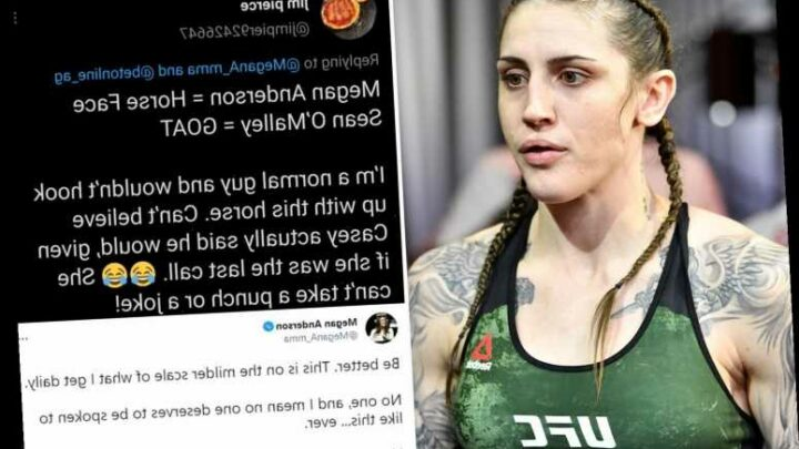 UFC star Megan Anderson hits back at trolls and reveals social media abuse she receives after posting pics online