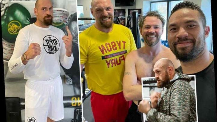 Inside Tyson Fury training camp from 'drinking 12 pints a day' to stunning body transformation for Anthony Joshua fight