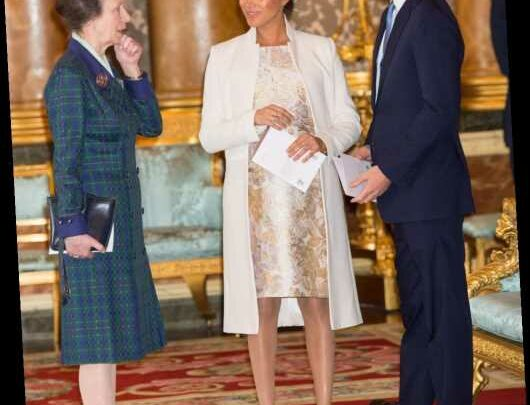 Lady Colin Campbell: Princess Anne sort of asked about the baby's skin color?