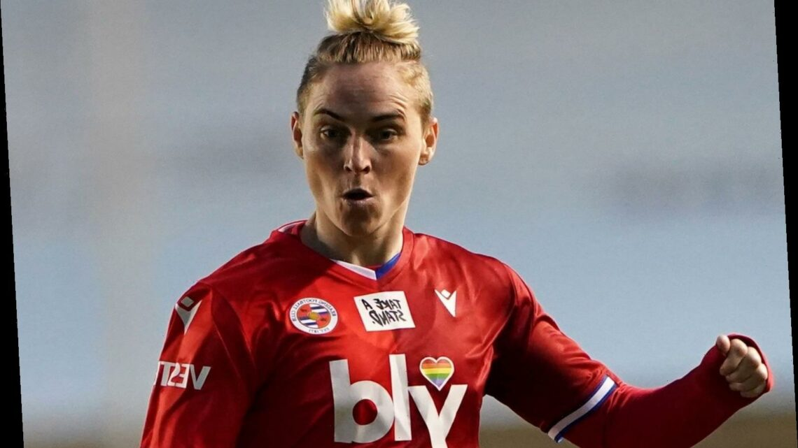 Reading star Jess Fishlock says she uses her voice to help youngsters who are struggling to come out as gay