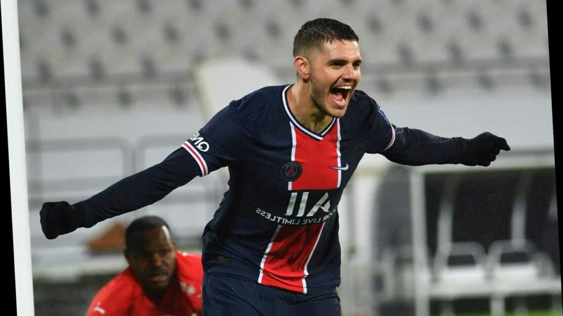 Mauro Icardi 'desperate to quit PSG this summer amid Premier League transfer interest but £8.6m-a-year wages an issue'