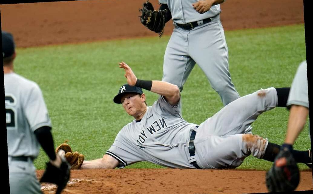 Yankees' Florida trip gets off to disastrous start vs. Rays