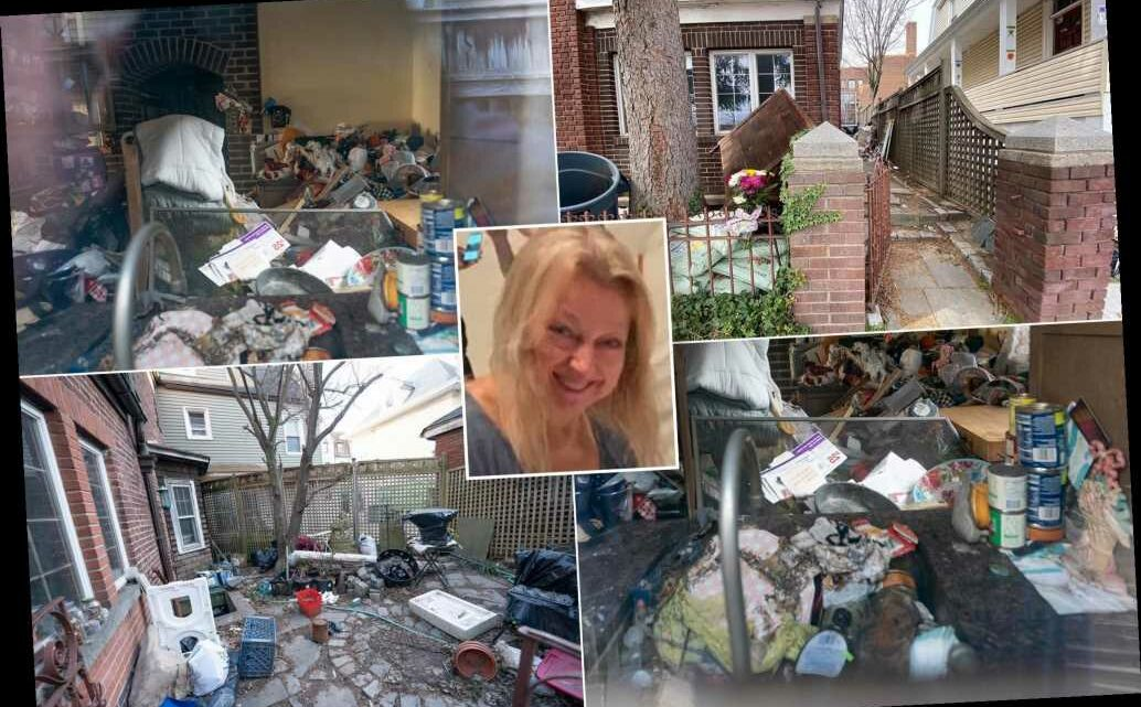 Stunning photos show home where hoarder's mummified body was found