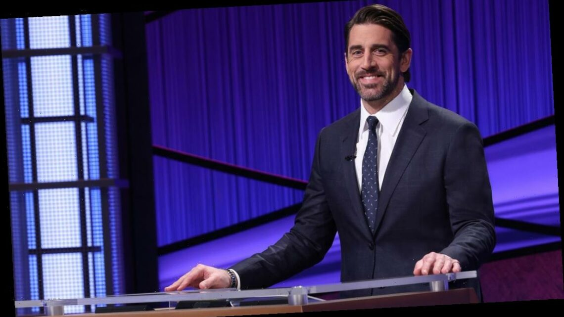 Aaron Rodgers Says Guest Hosting Jeopardy! Is an 'Honor of a Lifetime' in First Look
