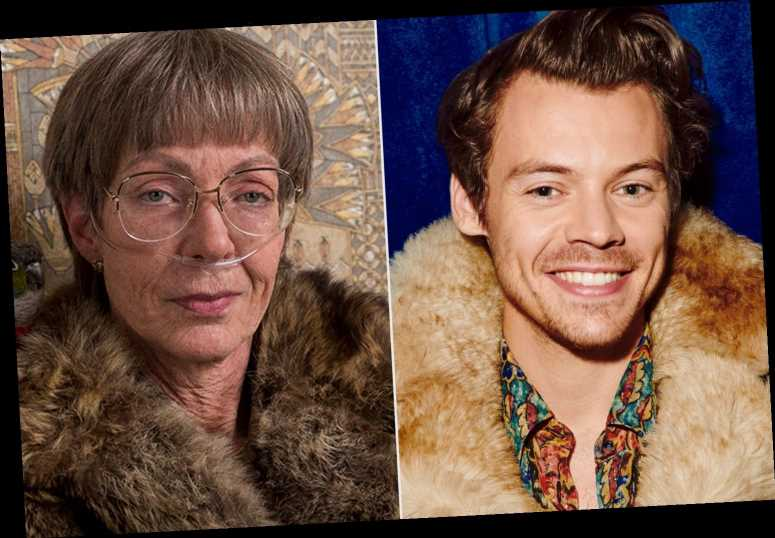 Olivia Wilde Reacts to Hilarious Meme of Harry Styles and Allison Janney Wearing Fur Coats