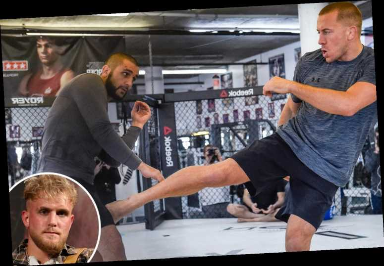 Jake Paul warned he will be thrown to 'the floor' and mauled in 'dirty' Ben Askren fight by Georges St-Pierre's coach