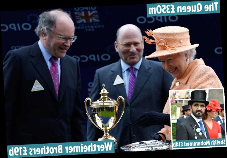 Richest owners in horse racing, from the secretive Chanel brothers worth £19BILLION to the ruler of Dubai and The Queen