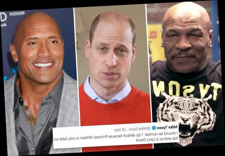 Mike Tyson brilliantly responds to The Rock's tweet about sexiest bald man alive by claiming it should be him