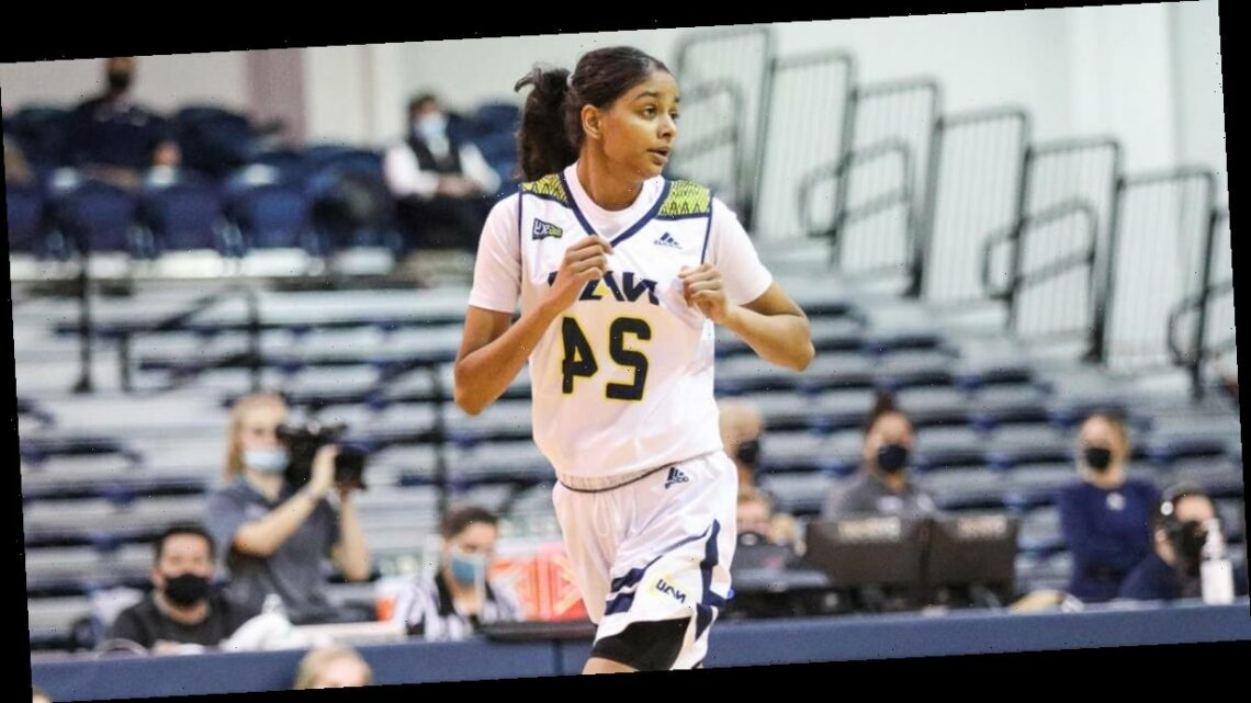 Sanjana Ramesh, a sign of hope for Indian-born players, is making women's hoops history