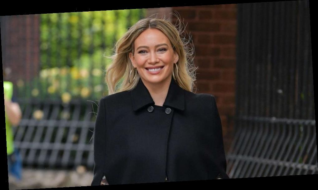 Hilary Duff shares photo of newborn daughter Mae 1 week after giving birth