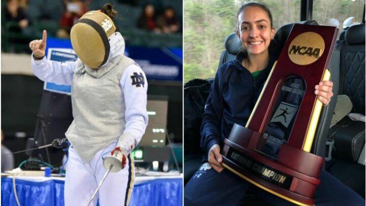 Fencing: Amita Berthier is first Singaporean to win NCAA team championship