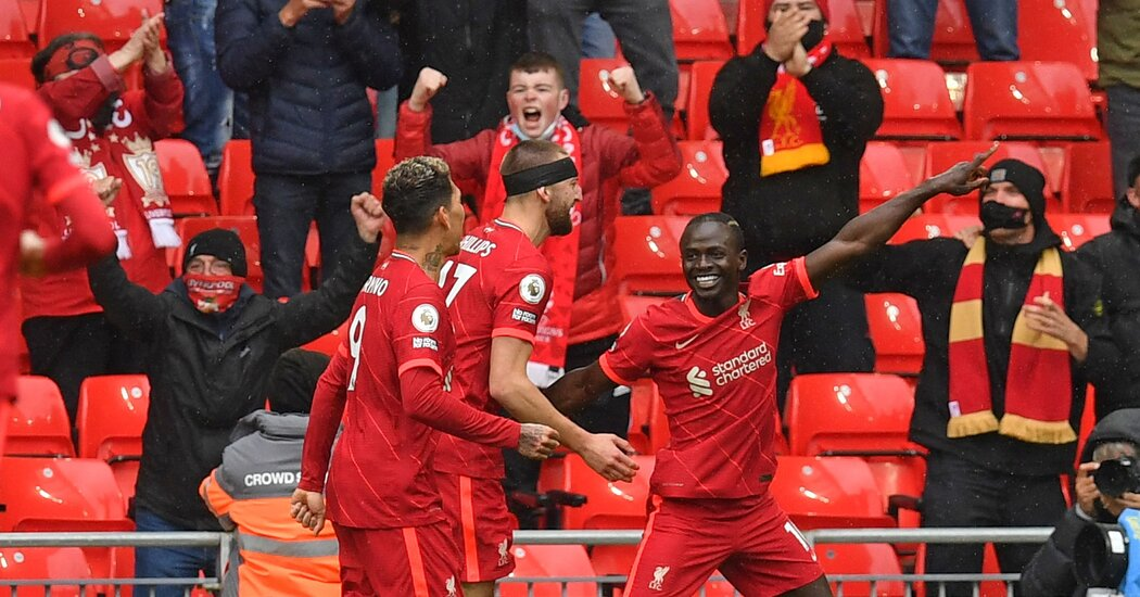 After Stumbling to the Finish Line, Liverpool Struts Across It