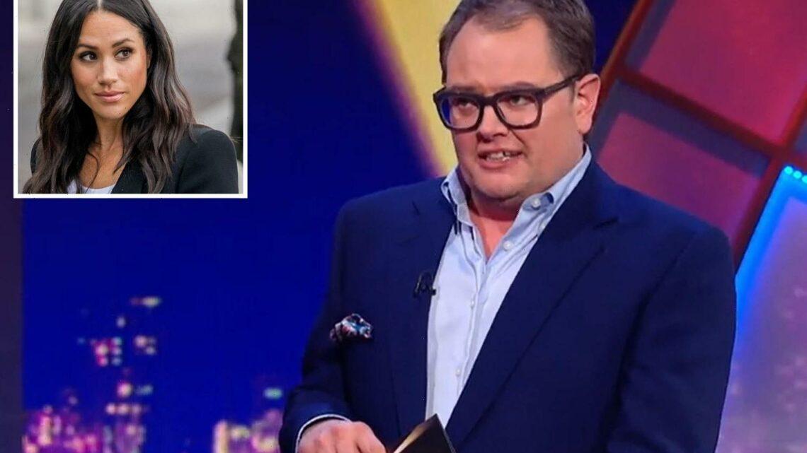 Alan Carr shocks Epic Gameshow viewers as he takes savage swipe at Meghan Markle