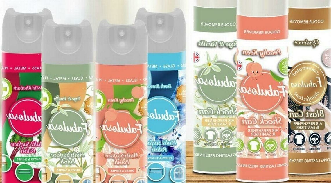 Aldi customer discovers shock Fabulosa cleaning products label mix up that brand insists is a recycling tactic