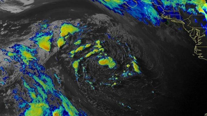 Ana forms in Atlantic, becomes first named system of 2021
