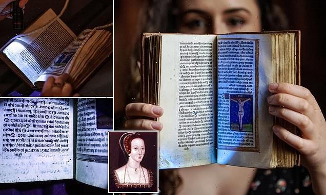 Anne Boleyn's prayer book secretly passed among friends after death