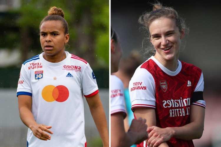 Arsenal in talks to swap WSL goal machine Vivianne Miedema for Lyon star Nikita Parris