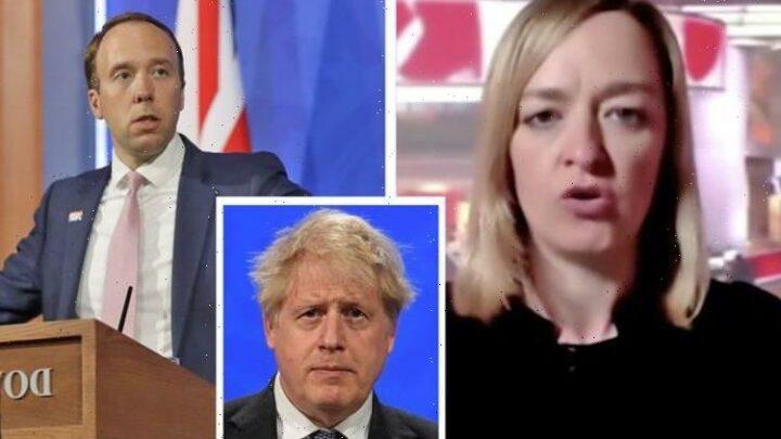 BBC defends Laura Kuenssberg's 'inappropriate' probe into Boris during Covid briefing
