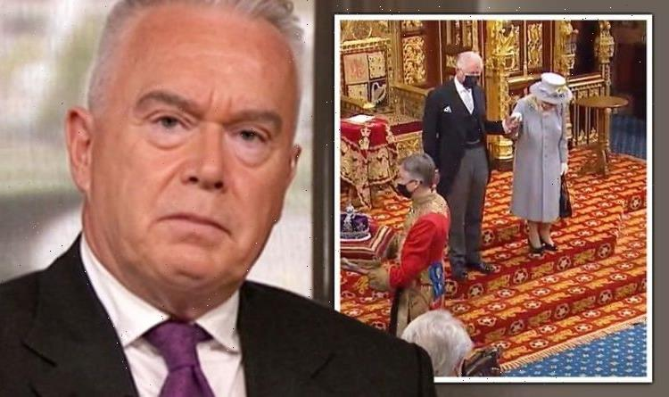 BBC's Huw Edwards visibly emotional as he pays tribute to Queen's sense of duty