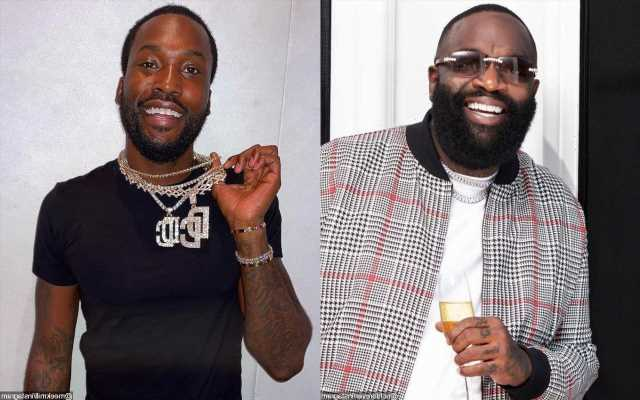 Beefing? Rick Ross Allegedly Denied Entry to Meek Mill's Birthday Party