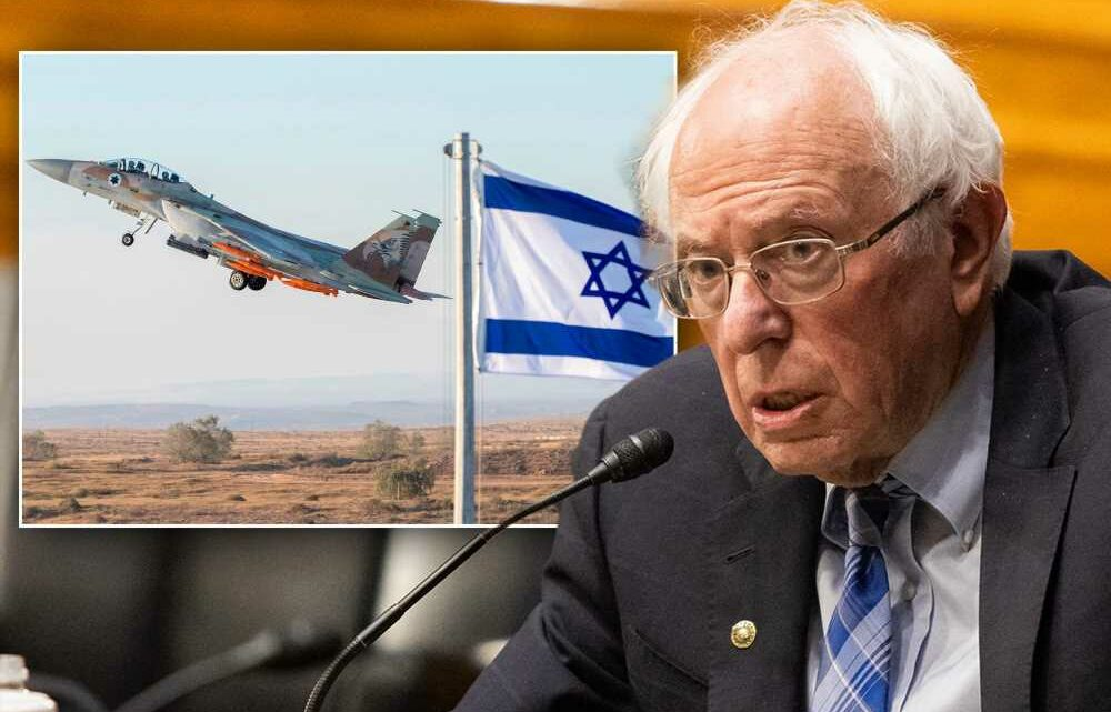 Bernie Sanders copies AOC with resolution to block Israel arms sale in Senate