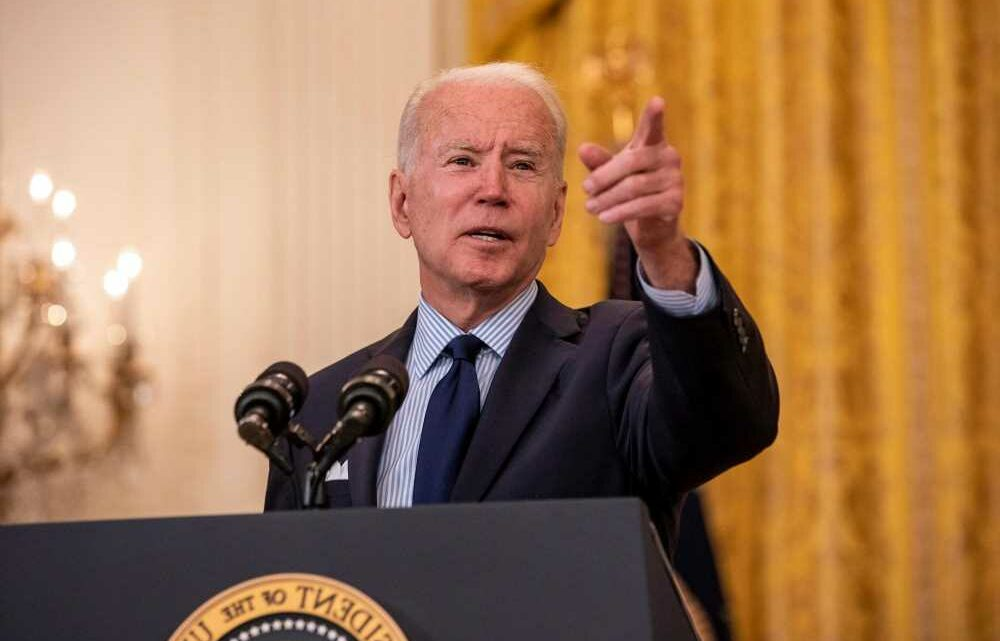 Biden says federal unemployment supplement didn't cause poor jobs report