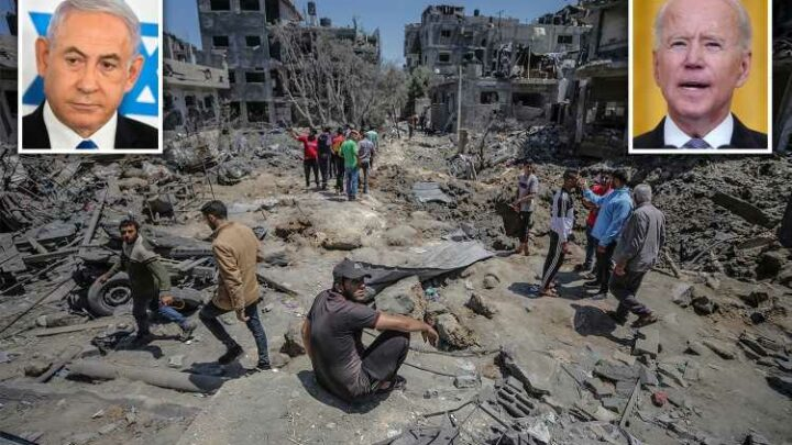 Biden urges Israeli PM Netanyahu for significant de-escalation & ceasefire after bombing blitz as Hamas conflict deepens
