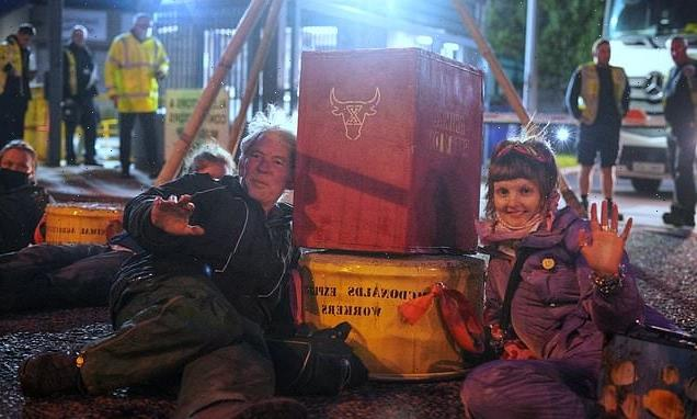 Big BLOCK and fries! Animal rights mob barricade four McDonald's