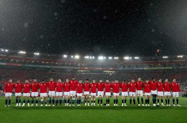 British and Irish Lions to play in EMPTY stadiums in South Africa as coronavirus third wave rips through country